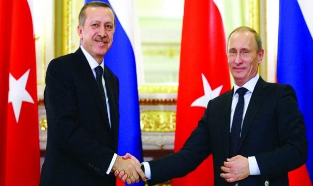 تركيا تسعى لتعزيز التعاون الإقتصادي مع روسيا