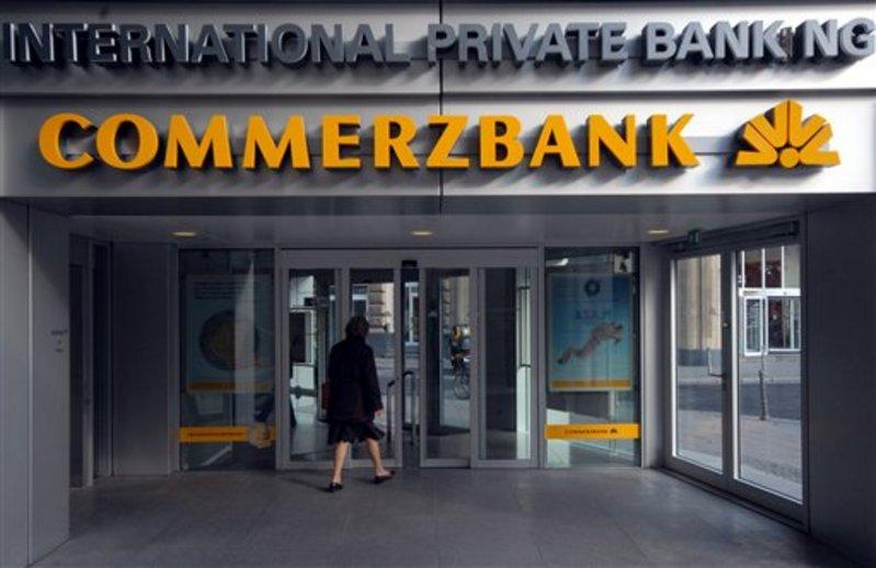 كوميرز بنك الالماني يعلن تراجع ارباحه في الربع الاخير من العام الماضي