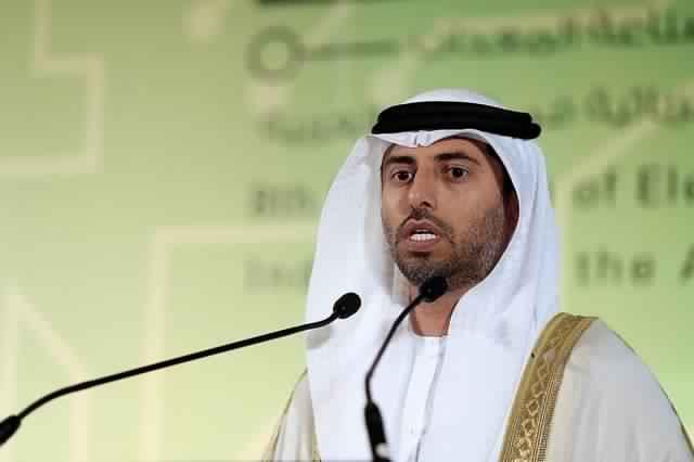 """وزير الطاقة الاماراتي """"سهيل المزروعي"""" يصرح بأن تراجع اسعار النفط أمر مؤقت"""