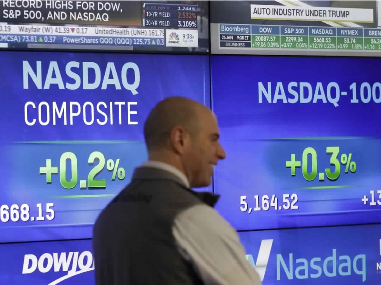 الأسهم الأمريكية تنتعش بعد يوم من تراجع ناسداك الى منطقة التصحيح