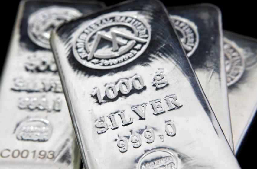تراجع أسعار الفضة خلال جلسة تداول الجمعة 22 يناير