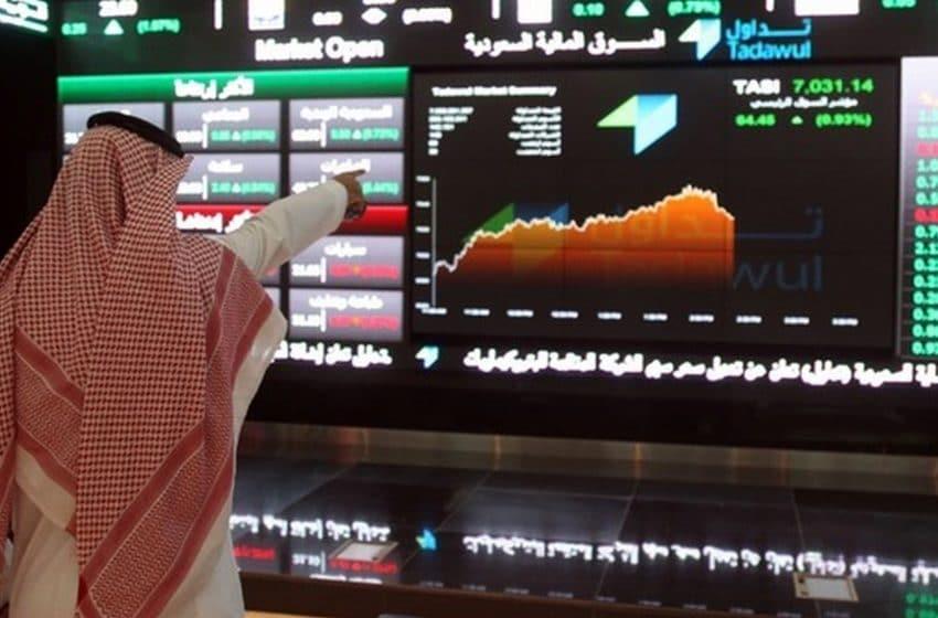 تحركات المؤشر العام والأسهم السعودي اليوم الاحد 24 يناير