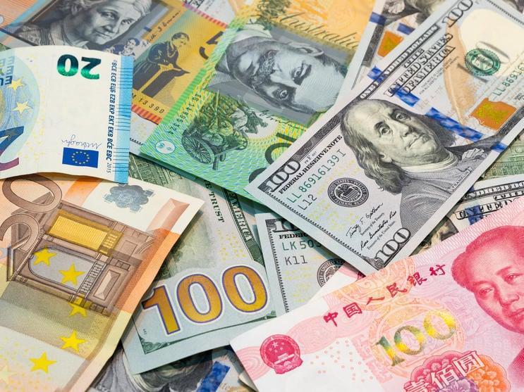 تراجع مؤشر الدولار مقابل سلة من العملات الأجنبية