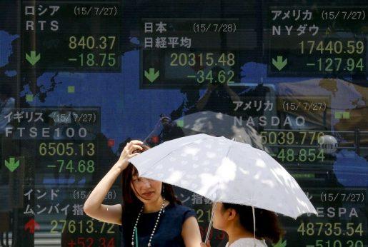 تباين في أداء الأسهم الآسيوية