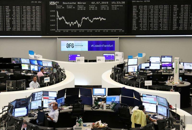 الأسهم الأوروبية تستأنف مكاسبها بعد جلسة الامس ماهي الاسباب؟