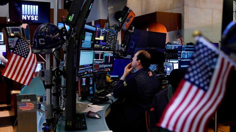 تحركات الاسهم الامريكية
