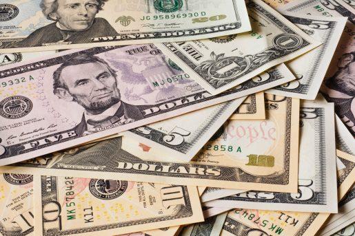 الدولار الامريكي مقابل بعض العملات