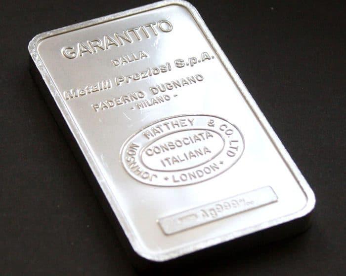 تحركات الفضة بجلسة تداول اليوم الأثنين مقابل ارتفاع مؤشر الدولار