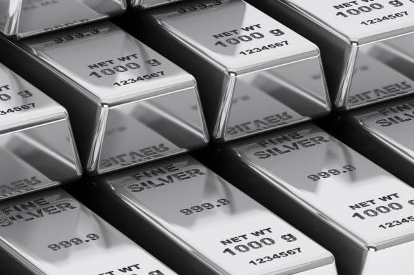 تعاملات العقود الآجلة لأسعار الفضة اليوم الأربعاء
